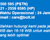 Call Center Bolt Bebas Pulsa 24 Jam